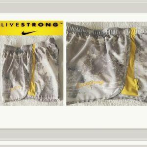 NIKE Livestrong Women's Running Shorts Size L